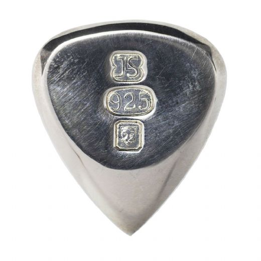 Treasure Tones Jazz Fat Silver 1 Guitar Pick